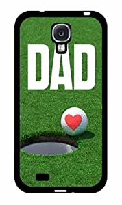 Golf Ball Dad 2-Piece Dual Layer Phone Case Back Cover Samsung Galaxy S4 I9500