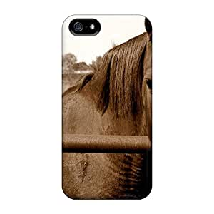 Top Quality Protection Horse Wallpaper Beautiful Horse 91 Case Cover For Iphone 5/5s