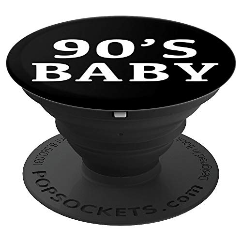 90s Baby Gift. 90'S Costume Born in The 90s Party Boys Girls PopSockets Grip and Stand for Phones and Tablets]()