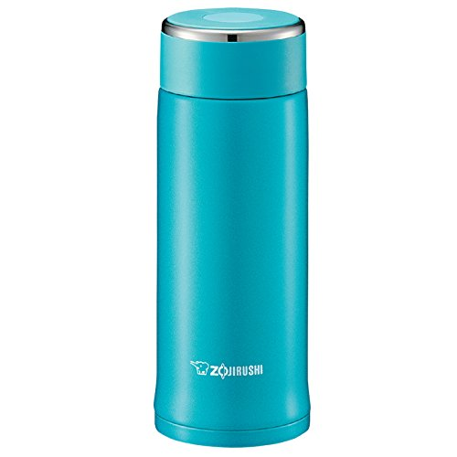Zojirushi Turquoise Blue Stainless Steel 12 Ounce Travel Mug