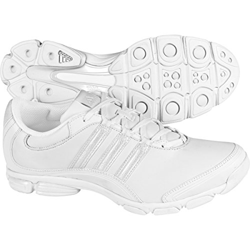 adidas Women's Cheer Sport Cross-Trainer Shoes, White, (7 M US)