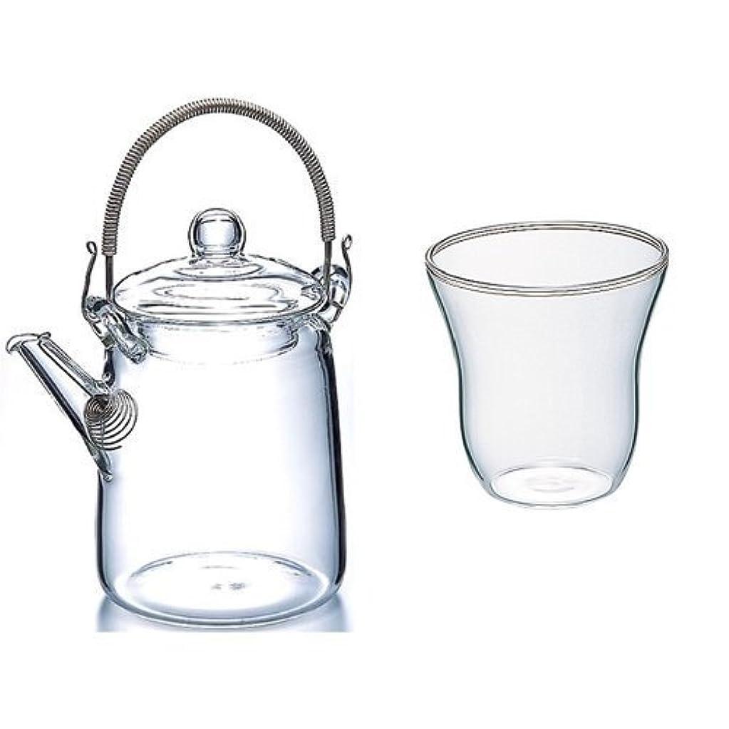 高潔な勧める酸度【有田焼】水晶花詰 Uポット茶器(化粧箱入)