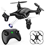 DROCON Falcon Mini Quadcopter with 720P HD Camera, Beginner Drone for Kids with Altitude Hold Mode, One-Key Return and Headless Mode, Supports 8GB TF Card