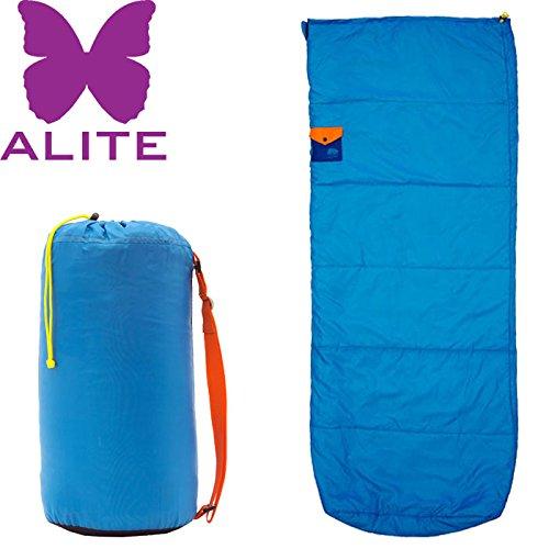 ALITE エーライト HOT TAMALE SLEEPIN ホットタマレスリーピングバッグ 〔特価 シュラフ 寝袋〕 (Cブルー):YBR21501 B071ZVLXFH  Cブルー one