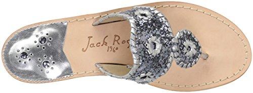 Cleo Rogers Femmes L'argent Sandale Jack Jack Des Robe Rogers TPRFx4v