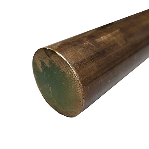 Online Metal Supply C936 High Leaded Tin Bronze Round Rod 3'' diameter x 13'' long by Online Metal Supply