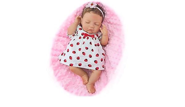 Amazon.es: Pursue Baby 16 Pulgadas muñecas Reborn niña Ojos ...