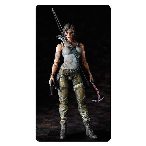 Square Enix Tomb Raider: Play Arts Kai Lara Croft Action Figure (Lara Croft Action Figure)