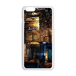 Creative House Graffiti Pattern Custom Protective Hard Phone Cae For Iphone 6 Plus