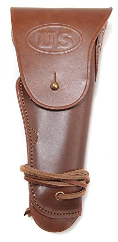 Leather-US-WW2-Style-M1916-Colt-1911-45-Holster-Utility-Holster