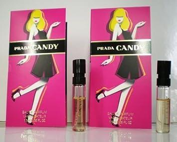 Amazon.com : Prada Candy Sample-Vials For Women, 0.05 oz EDP -Lot ...