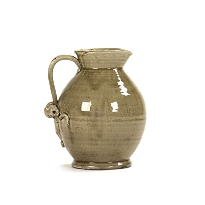 Image of Carafes & Pitchers Zentique Pitcher Pottery, Grey