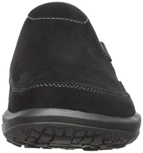 Simple Mens Centric-L Fashion Sneaker Black Suede 57nDR