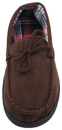 Full Skum Stil Brun Minne Menns Moccasin Tøffel Zest Fleece qtY6BY