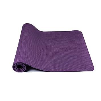 LYX Monocromo ampliado mi Yoga Mat Antideslizante Colchoneta ...
