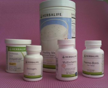 Herbalife avance peso pérdida programa elegir sabor.