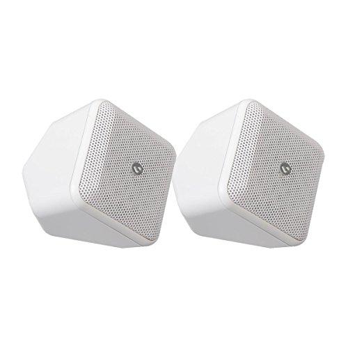 Boston Acoustics SoundWare XS Satellite Speaker - Pair (White) by Boston Acoustics