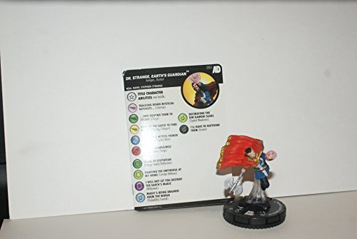 Marvel Heroclix Avengers Defenders War Dr. Strange Earth's Guardian 051 SR