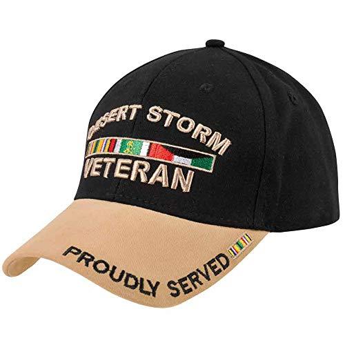Medals of America Desert Storm ODS Veteran Tan Hat Khaki L/XL