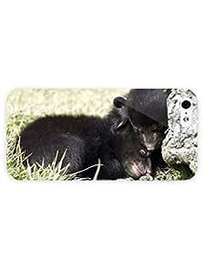 3d Full Wrap Case for iPhone 5/5s Animal Bear Cubs Sleepin by icecream design