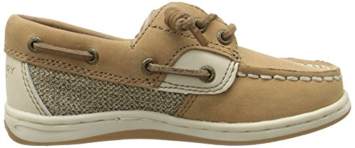 Sperry Girls Songfish A/C Boat Shoe (Toddler/Little Kid) Linen/Oat