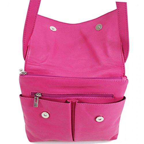 818 Leather Bags Real Body Handbag Messenger Cross LeahWard Small Gold Women's qRSAxwnHa4
