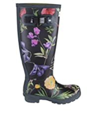 Hunter Women's WFT1070RPI Multicolor Rubber Boots