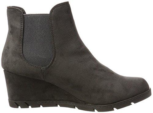 XTI Women's 063701 Chelsea Boots Grey (Grey Grey) O8YoNbY73u