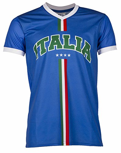 A Homme Supporter Maillot Adulte Italie Chacun Taille Son Pays Collection rPqrwU41p