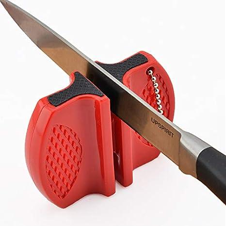 Amazon.com: Mini varilla de cerámica afilador de cuchillos ...