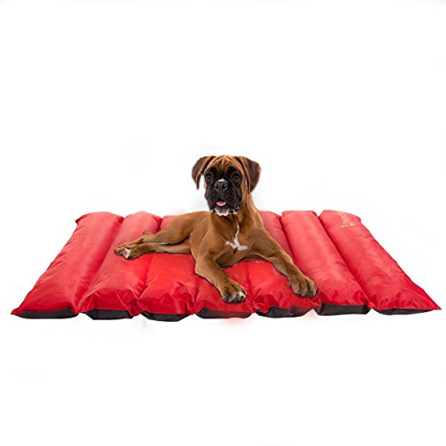 Favorite Portable Roll Up Waterproof Dog Bed Mat Cushion Indoor Outdoor Travel Camping by Favorite