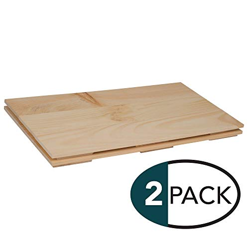 Natural Wood Finish 10.5 x 20 Dried Pine Craft Plank Signs Pack of 2