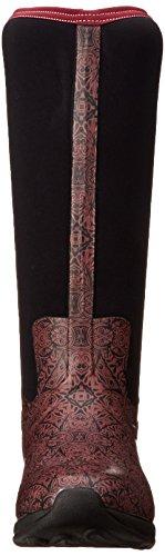 Muckboots Kvinners Artic Eventyr Snø Boot Rødbrun Aztec Print