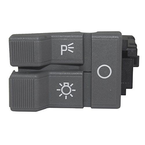 Headlight Headlamp Dimmer Switch Gray Replacement for Chevrolet GMC Pickup Truck Suburban Blazer Yukon 19245374 AutoAndArt ()