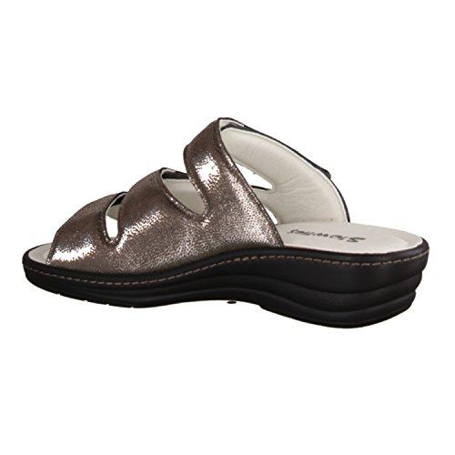 marron pour femme pantolette 141–chaussures Slowlies sandales qOnfzw6xHX