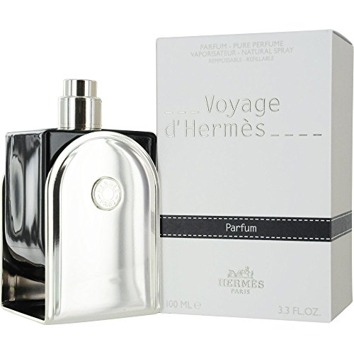 (Hermes Voyage D'hermes Parfum Refillable Spray for Unisex, 3.3 Ounce)