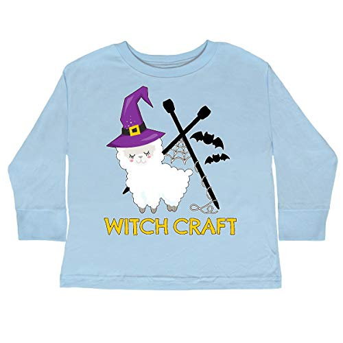 Club 340 Halloween (inktastic Witch Craft Halloween Toddler Long Sleeve T-Shirt 3T Light)