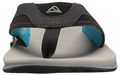 Lgb Hombre Multicolor Fanning Chanclas Blue para Grey Light Reef qFO4UnF