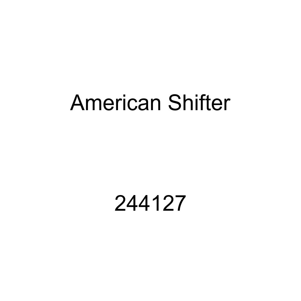 American Shifter 98071 Red Shift Knob with M16 x 1.5 Insert White Boat