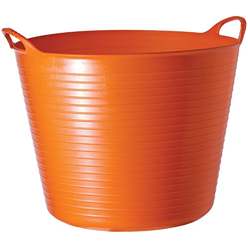 Tubtrugs 26l Medium Flexible 2-handled Recycled Tub, Orange