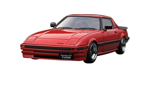 Amazon.com: Ignition model 1/43 Mazda Savanna RX-7 (SA22C) Red finished product: Toys & Games