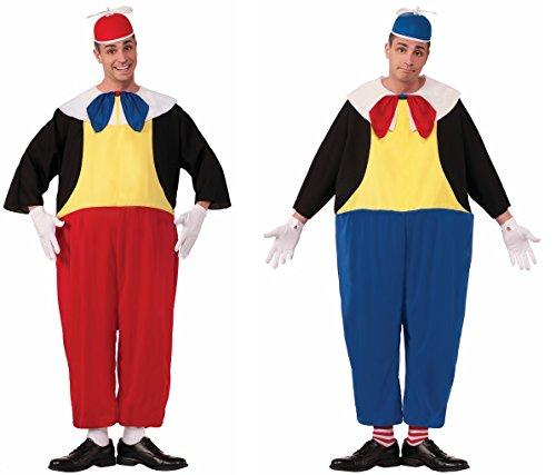 Faerynicethings Tweedle Dee and Tweedle Dum Adult Male Costumes - Both Costumes ()