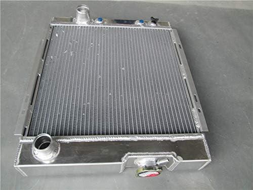 MONROE RACING U0085 3 rows 56mm aluminum radiator for Ford 1964 1965 1966 MUSTANG V8 289 302 WINDSOR