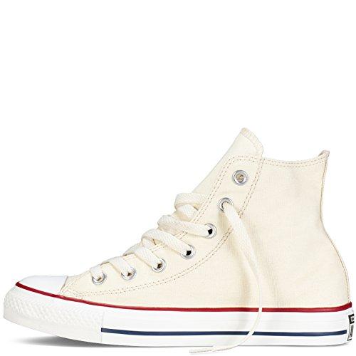 Converse All Star Hi Sko - Offwhite - Uk 3 / Oss Menns 3 / Oss Kvinner 5 / Eu 35