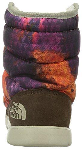 The North Face W Thermoball Lace, Botas de Senderismo para Mujer Morado / Naranja / Marrón