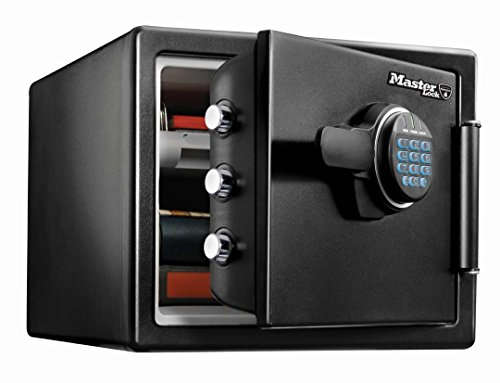 Fire resistant fireproof water resistant safe with programmable digital...