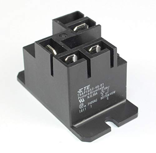 (RR #31) TE Connectivity Relay SPST T9AP1D52-48-01 30A, 48V Battery Charger, Forklift, Potter and Brumfiled Normally Open