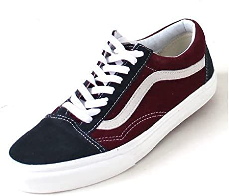 Vans Old Skool, (Vintage) blgrpht/wndsrWne: Amazon.fr ...