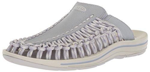 KEEN Women's Uneek Slide-w Sandal, Dapple Grey/Vapor