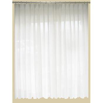 Amazon Com Saaria Sheer Curtain Semi Transparent Drapes